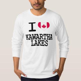 Amo los lagos Kawartha Playeras