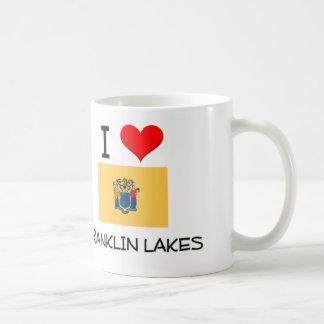 Amo los lagos New Jersey franklin Tazas