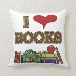 Amo los libros almohadas