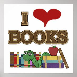Amo los libros impresiones