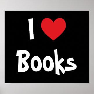 Amo los libros poster