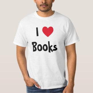 Amo los libros playera