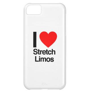 amo los limos de estiramiento funda para iPhone 5C