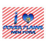 Amo los llanos de Dover, Nueva York Tarjetas Postales