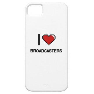 Amo los locutores iPhone 5 Case-Mate cárcasas