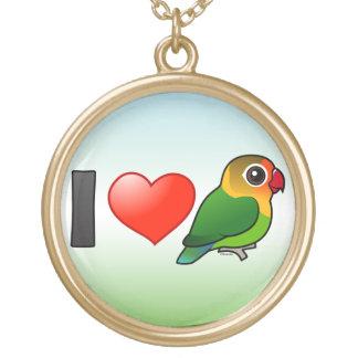 Amo los Lovebirds de Fischer Collar Personalizado