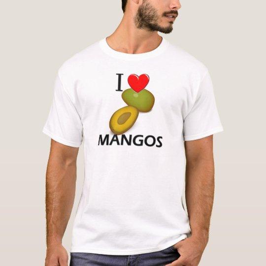 Amo los mangos playera