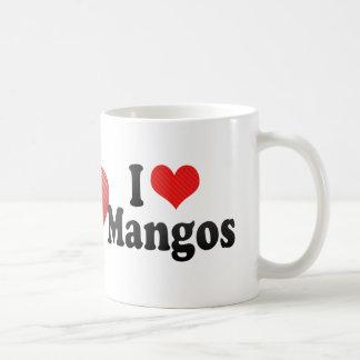 Amo los mangos taza de café
