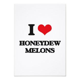 Amo los melones de ligamaza invitación 12,7 x 17,8 cm