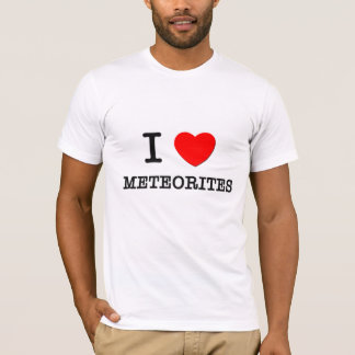 Amo los meteoritos playera