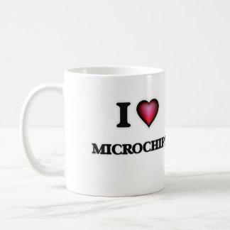 Amo los microchipes taza clásica