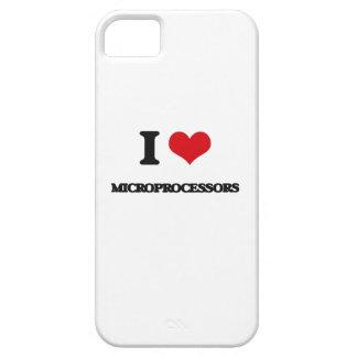Amo los microprocesadores iPhone 5 fundas