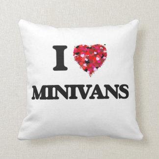Amo los minivanes cojines