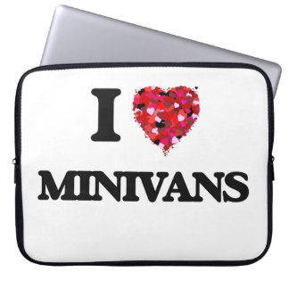 Amo los minivanes fundas portátiles