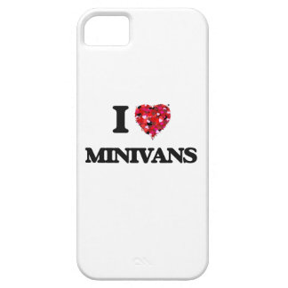 Amo los minivanes iPhone 5 funda