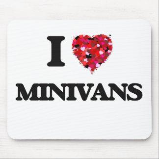 Amo los minivanes tapete de raton