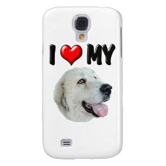 Amo los mis grandes Pirineos Funda Para Galaxy S4