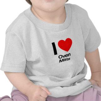 amo los mitones del horno camisetas