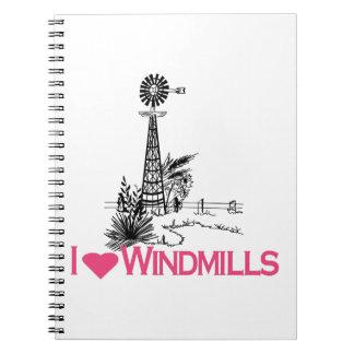 Amo los molinoes de viento libros de apuntes