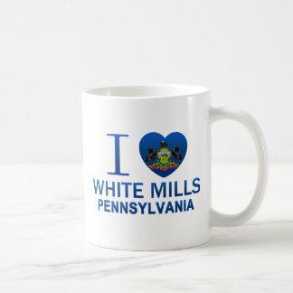 Amo los molinos blancos, PA Tazas De Café