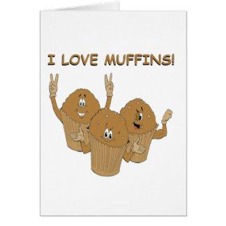 ¡Amo los molletes! Tarjeta De Felicitación