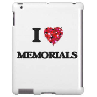 Amo los monumentos funda para iPad
