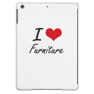 Amo los muebles funda para iPad air