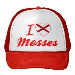 Amo los musgos, Alabama Gorras