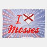 Amo los musgos, Alabama Toalla