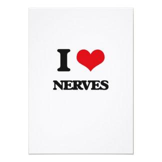 """Amo los nervios invitación 5"""" x 7"""""""