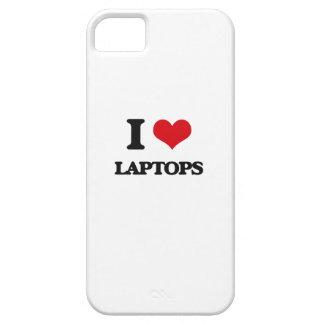 Amo los ordenadores portátiles iPhone 5 cárcasas