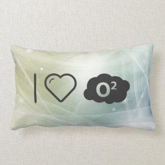 Amo los oxígenos almohada