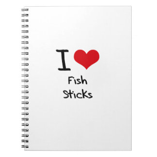 Amo los palillos de pescados libros de apuntes