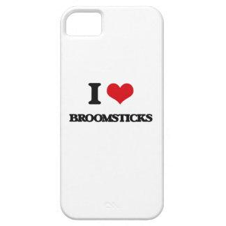 Amo los palos de escoba iPhone 5 Case-Mate cárcasa