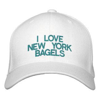 AMO los PANECILLOS de NUEVA YORK - casquillo Gorros Bordados