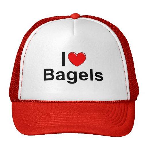 Amo los panecillos (del corazón) gorras de camionero