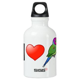 Amo los Parakeets Ciruelo-dirigidos (el varón)