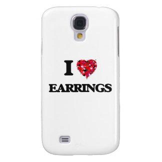 Amo los PENDIENTES Funda Para Galaxy S4