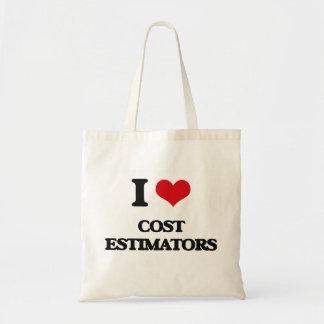 Amo los peritos del coste bolsa