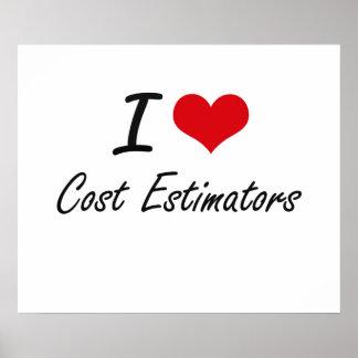 Amo los peritos del coste póster