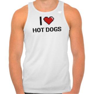 Amo los perritos calientes t-shirt