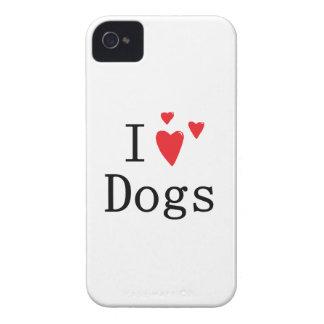 Amo los perros Blackberry intrépido