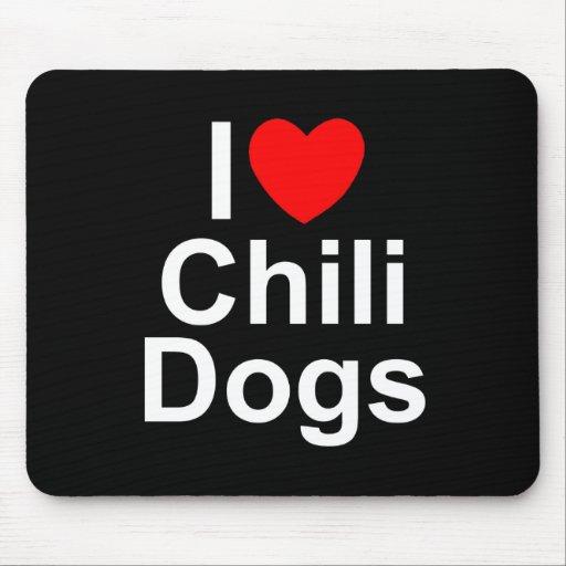 Amo los perros de chile (del corazón) alfombrillas de ratones