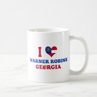 Amo los petirrojos de Warner, Georgia Taza De Café
