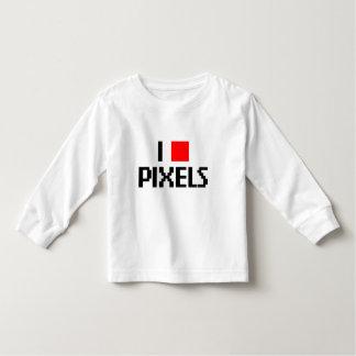Amo los pixeles playeras