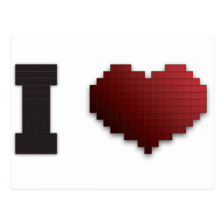 ¿Amo los pixeles?!? Postales