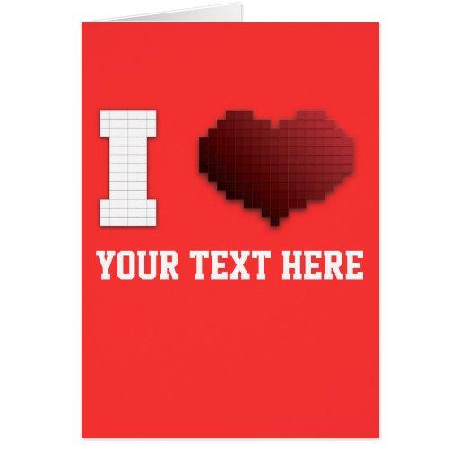 ¿Amo los pixeles?!? Tarjeta