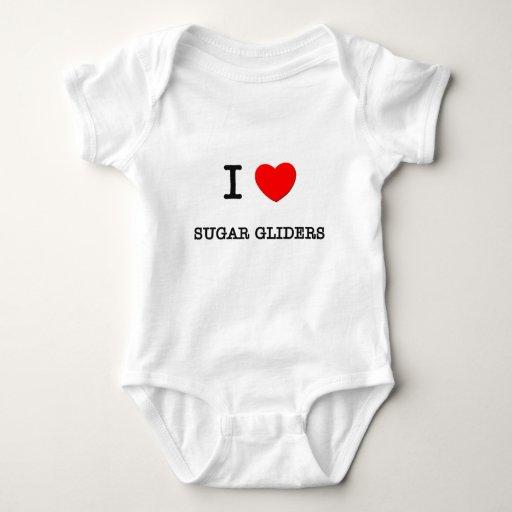 Amo los PLANEADORES del AZÚCAR T-shirt