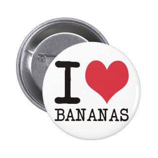 Amo los plátanos - manzanas - los productos y los  pin