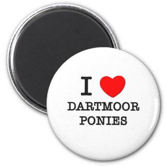 Amo los potros de Dartmoor (los caballos) Iman De Frigorífico